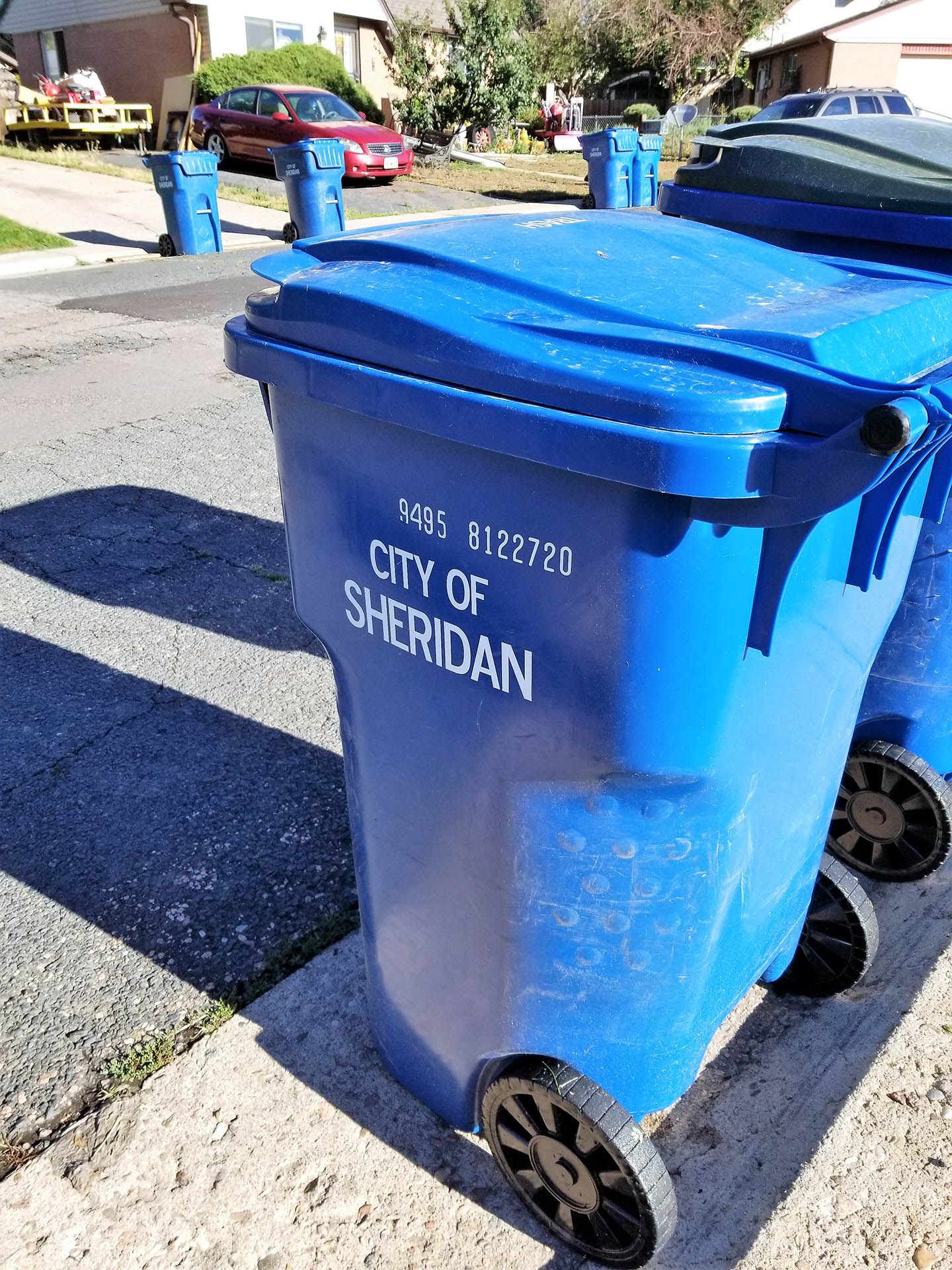City trash service - neat carts and standardized low prices